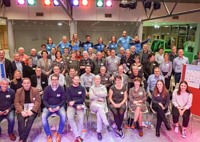 Supporters van het sportakkoord Horst aan de Maas