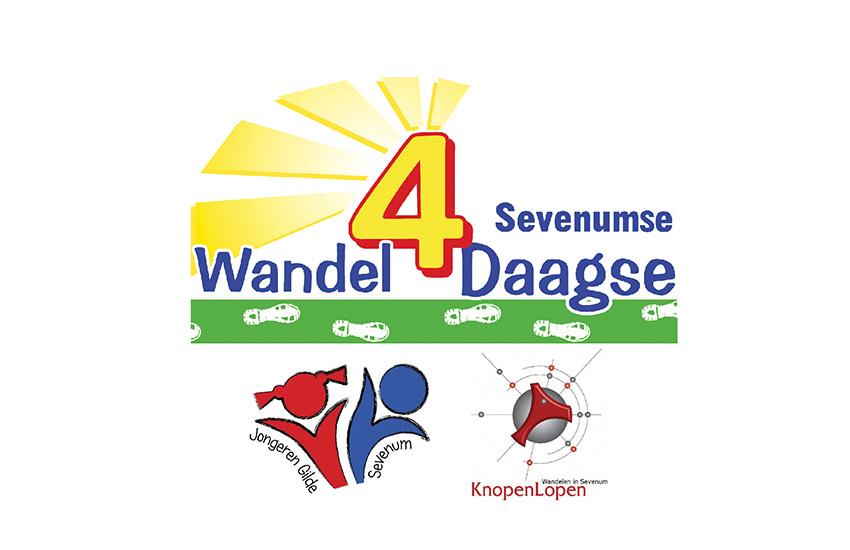 Logo wandel 4 daagse Sevenum