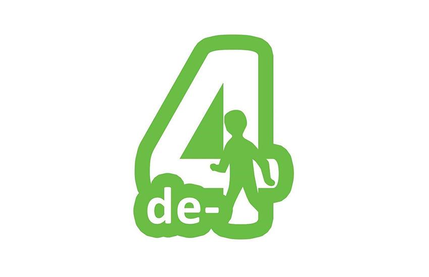 Logo van de 4