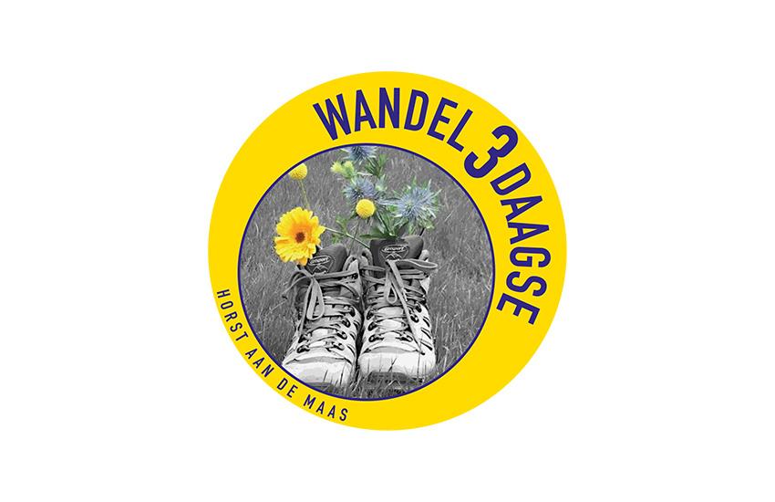 Logo van de wandel 3 daagse