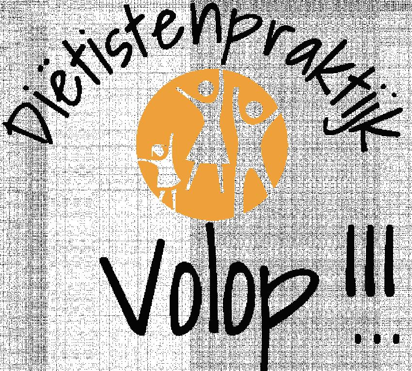 Logo van diëtistenpraktijk Volop