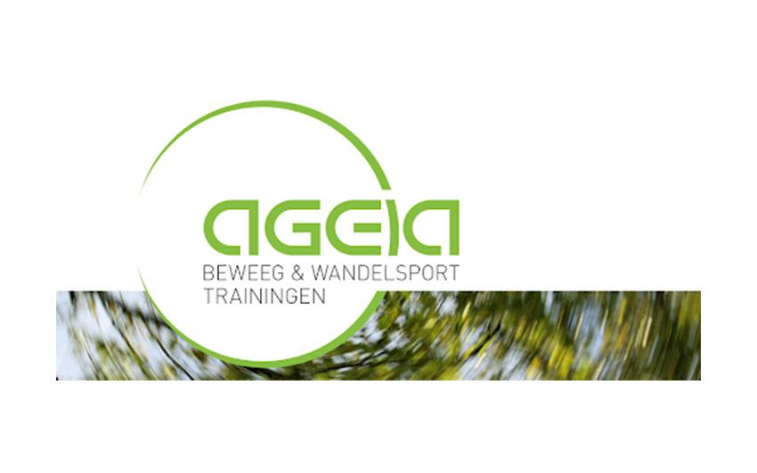 Logo van beweeg- en wandelsportvereniging Ageia