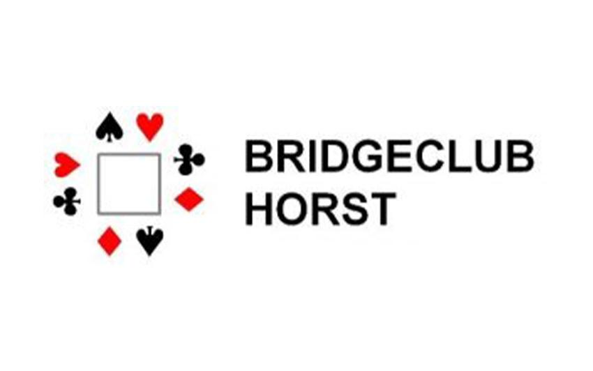 Logo van bridgeclub horst