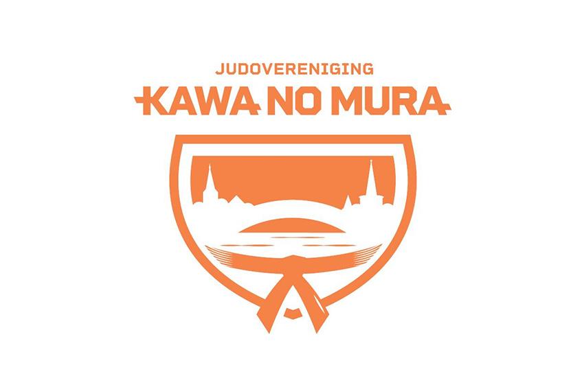 Logo van judovereniging Kawa no mura