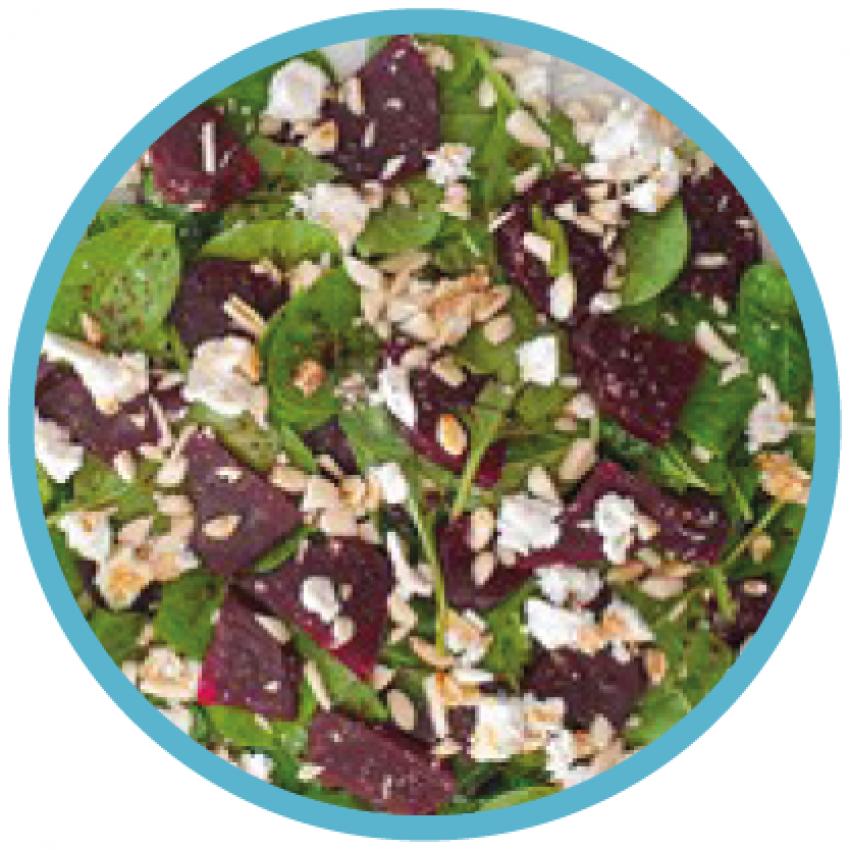 Foto van een salade